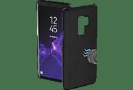 HAMA Magnet , Backcover, Samsung, Galaxy S9+, Polyurethan (PU), Schwarz