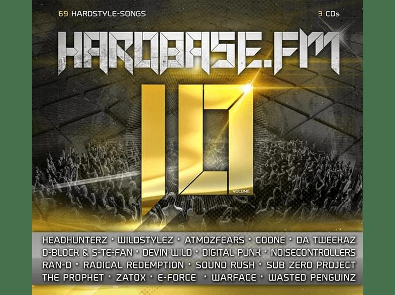 VARIOUS - HARDBASE.FM 10 [CD]