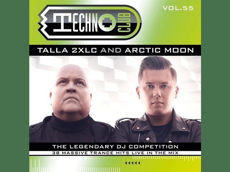 Mixed By Talla 2xlc & Arctic Moon - Techno Club Vol.55 [CD]
