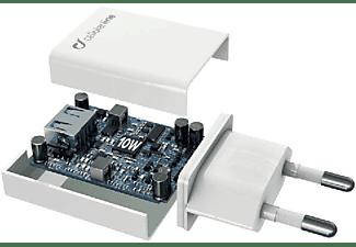Cellularline ACHSMUSB10WW Interior Blanco cargador de dispositivo móvil