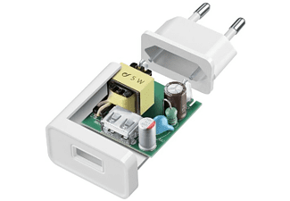 Cellularline ACHSMKIT5WMUSBW Interior Blanco cargador de dispositivo móvil