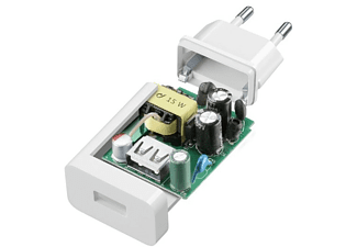 Cargador USB - Cellularline ACHSMUSB15WW Interior Blanco cargador de dispositivo móvil