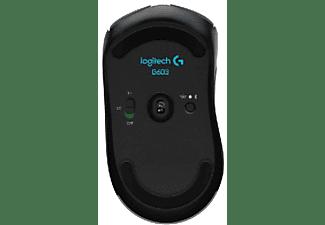 Ratón inalámbrico - Logitech G603,12000 DPI, Bluetooth Óptico  mano derecha,  Negro