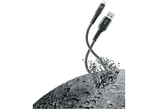 Vivanco CELLULARLINE Extreme 1m USB Type A Lightning Negro cable de teléfono móvil