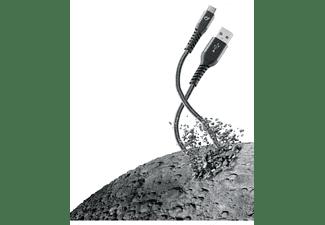 Cellularline TETRACABTYC2MK 2m USB A USB C Macho Macho Negro, Gris cable USB