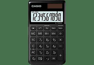 Calculadora - Casio SL-1000SC, Corrección rápida, Memoria, Negro