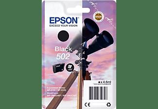 Cartucho de tinta - Epson 502, 4.6ml, 210 páginas, Negro