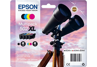Cartucho de tinta - Epson 502XL, 28.4ml, Negro, Cian, Magenta, Amarillo