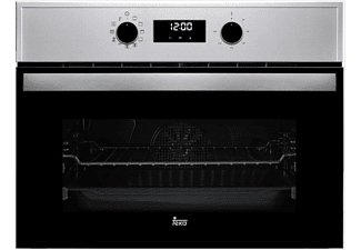 Horno - Teka HBC 625 P, Compacto, 44L, 8 funciones, Pirolítico, Inox