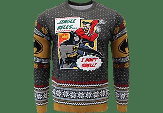 Batman: I Don't Smell Xmas Pullover XL