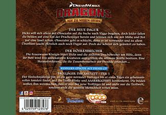 Various - Dragons: Auf zu neuen Ufern - Die Höhlenbrecher (33)  - (CD)