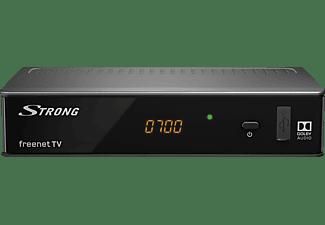 STRONG SRT 8541 DVB-T2 HD Receiver mit 3 Monaten freenet TV gratis DVB-T2 HD Receiver (HDTV, PVR-Funktion=optional, DVB-T2 HD, Schwarz)