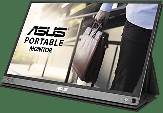 ASUS ZenScreen Go MB16AP 15,6 Zoll Full-HD tragbarer Monitor (5 ms Reaktionszeit, 60Hz)