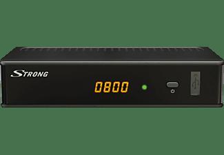 STRONG SRT 3002 (digitales Kabelfernsehen, Full HD, HDMI, SCART, Mediaplayer)  HD Kabel Receiver (HDTV, PVR-Funktion=optional, DVB-C, Schwarz)