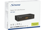 STRONG SRT 3002 (digitales Kabelfernsehen, Full HD, HDMI, SCART, Mediaplayer)  HD Kabel Receiver (HDTV, optional, DVB-C, Schwarz)