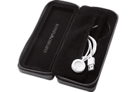 EMPORIO ARMANI  ART5007 Touchscreen Smartwatch Edelstahl, Edelstahl, 190 mm, Schwarz