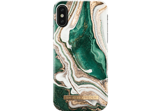IDEAL OF SWEDEN Fashion Case, Backcover, Apple, iPhone XS, Golden Jade