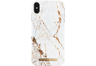 IDEAL OF SWEDEN Fashion Case Handyhülle, Apple iPhone XS Max, Carrara Gold