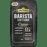 JACOBS BARISTA EDITIONS CREMA 1 kg, Kaffeebohnen (Mit Kaffeevollautomat, Siebträger oder French Press.)