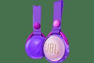 JBL JR POP Bluetooth Lautsprecher, Lila, Wasserfest