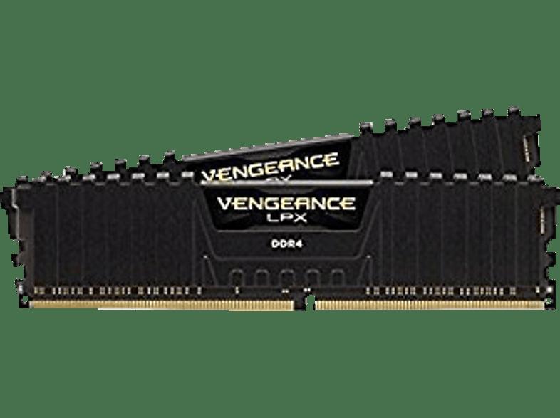 CORSAIR Vengeance LPX Black Heat spreader Arbeitsspeicher 16 GB DDR4