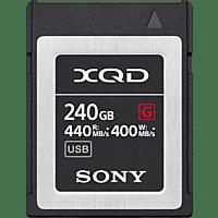 SONY XQD-G240E, XQD Speicherkarte, 240 GB, 440 MB/s