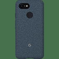 GOOGLE Fabric Backcover Google Pixel 3 Polycarbonate (PC) und Thermoplastische Elastomere (TPE) Indigo