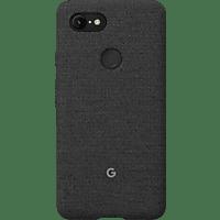 GOOGLE Fabric Backcover Google Pixel 3XL Polycarbonate (PC) und Thermoplastische Elastomere (TPE) Carbon