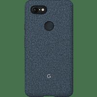 GOOGLE Fabric Backcover Google Pixel 3XL Polycarbonate (PC) und Thermoplastische Elastomere (TPE) Indigo