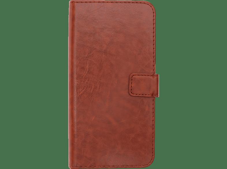 V-DESIGN BV 454 , Bookcover, Apple, iPhone XS Max, Kunstleder, Braun