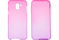 V-DESIGN V-LV 085 , Full Cover, Samsung, Galaxy J6, Thermoplastisches Polyurethan, Pink/Violett