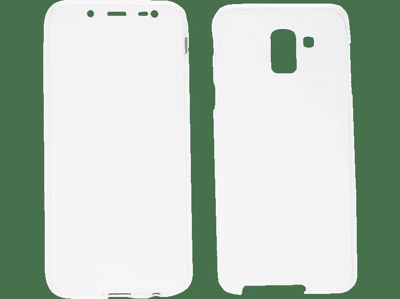 V-DESIGN V-LV 082 , Full Cover, Samsung, Galaxy J6, Thermoplastisches Polyurethan, Transparent
