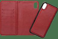 V-DESIGN V-2-1 166 , Bookcover, Apple, iPhone XS Max, Kunstleder, Rot