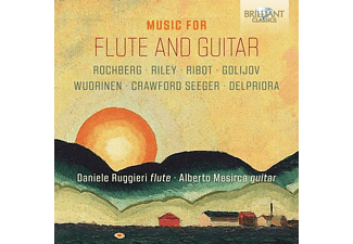 Ruggieri,Daniele/Mesirca,Alberto - Music For Flute And Guitar - (CD)