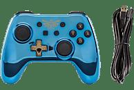POWER A Switch Wired Chrome Blue Zelda Controller, Blau Gold