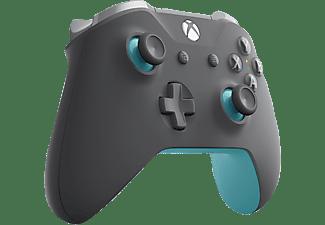 MICROSOFT Xbox Wireless Controller Controller Dunkelgrau/Hellgrau/Blau
