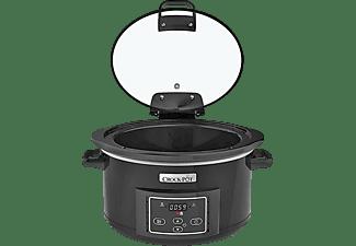 Olla de cocción lenta - Crockpot CSC052X Capacidad 4.7 L Tapa abatible Temporizador