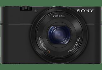 SONY Cyber-shot DSC-RX100 I Zeiss Plus 16GB SD-Speicherkarte Digitalkamera Schwarz, 20.2 Megapixel, 3.6x opt. Zoom, Xtra Fine/TFT-LCD