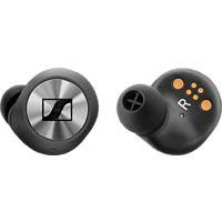 SENNHEISER MOMENTUM True Wireless, In-ear True-Wireless-Kopfhörer Bluetooth Schwarz/Silber