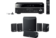 YAMAHA YHT-2950 (HTR-3072 + NS-P41) 5.1 System (Bluetooth, App-steuerbar, Schwarz)