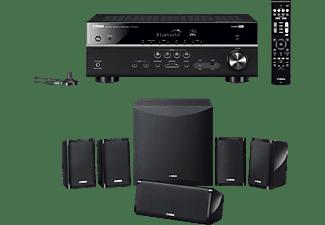 YAMAHA YHT-2950 (HTR-3072 + NS-P41) 5.1 System, Bluetooth, Ja, Schwarz)