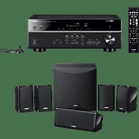 YAMAHA YHT-4950 (HTR-4072 + NS-P41) 5.1 System (Bluetooth, App-steuerbar, Schwarz)