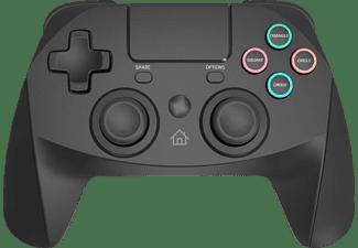SNAKEBYTE Wireless Bluetooth Gamepad 4 S - Kompatibel mit Playstation 4 Controller Schwarz