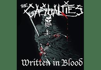 The Casualties - Written In Blood  - (Vinyl)