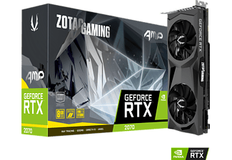 ZOTAC GeForce RTX™ 2070 8GB AMP! Edition 8GB (ZT-T20700D-10P) (NVIDIA, Grafikkarte)
