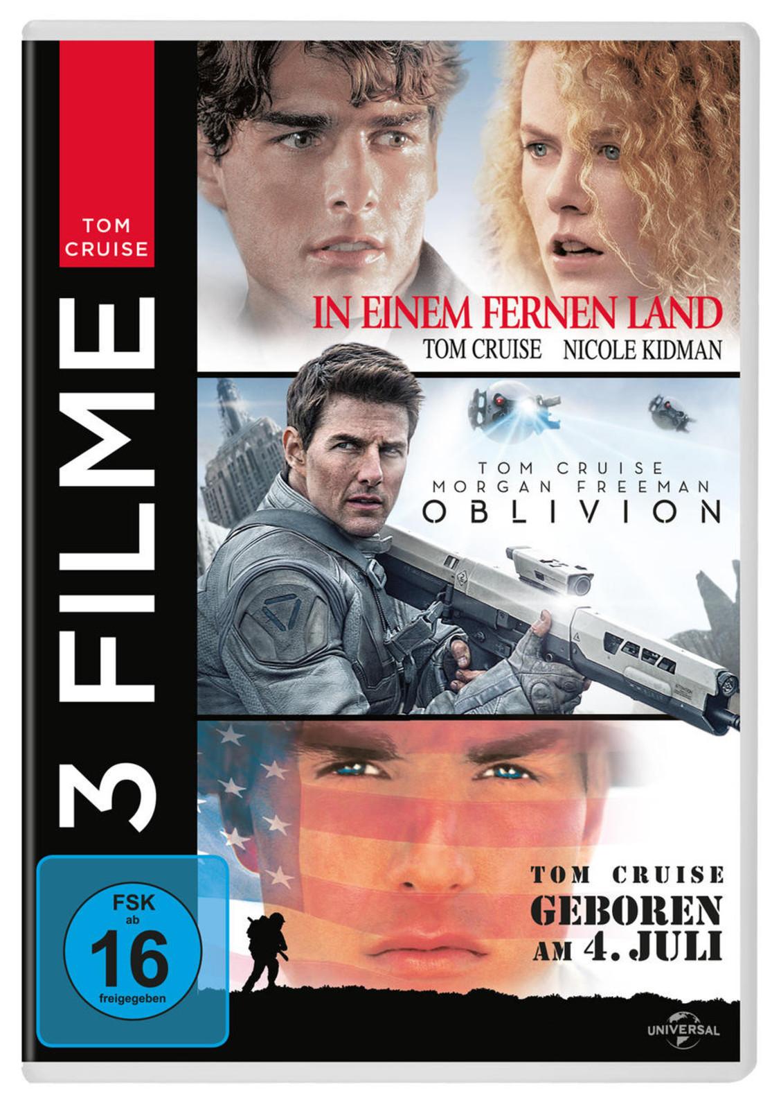 Tom Cruise Collection In Einem Fernen Land Oblivion Geboren Am 4 Juli Dvd Ebay