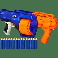 NERF Nerf N-Strike Elite Surgefire Spielzeugblaster, Orange/Blau