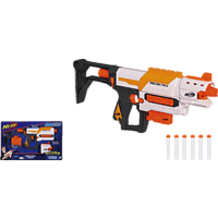 NERF Nerf N-Strike Modulus Recon MKII Spielzeugblaster, Grau/Weiß