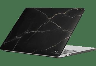 WHITE DIAMONDS Marble Notebooktasche Backcover für Apple Kunststoff, Schwarz
