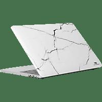 WHITE DIAMONDS Marble Notebooktasche, Backcover, Weiß